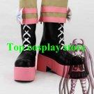 Dangan Ronpa DanganRonpa Kotoko Utsugi Cosplay Boots shoes pink sole #DRDC01