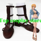 One Piece Cosplay Nami Namei Cosplay Shoes boot #OP024 shoe boot