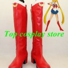 Sailor Moon Cosplay Shoes boots red ver  shoe boot