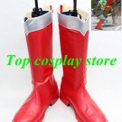 Power Rangers Super combat team Power Ranger Cosplay Shoes boots red ver  #15YJZ