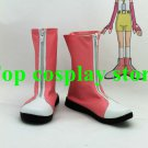 Pokemon Digital Monster Digimon Adventure Yagami Hikari Cosplay Boots shoes Pink