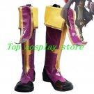 BlazBlue Cosplay Tsubaki Yayoi Cosplay Boots shoes #BZBC07 shoe boot