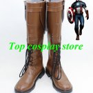 Marvel's The Avengers Captain America Steven Steve Rogers cosplay shoes boots v2