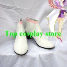 Mobile Suit Gundam Cosplay Lacus Clyne Cosplay Ankle Boots shoes white ver