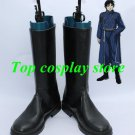 Fullmetal Alchemist Roy Mustang Riza Hawkeye cosplay shoes boots shoe boot