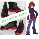 Pocket Monster Silver Cosplay Boots shoes #cos0238 New come Custom-Made hand mad