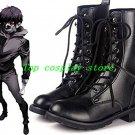 Tokyo Ghoul Kaneki Ken Cosplay Costume Black Boots shoes shoe boot 2