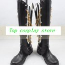 Vocaloid Kaito ver2 Unhappy Refrain cos Cosplay Shoes Boots shoe boot  #CQ025