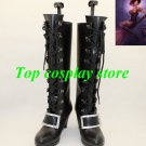 League of Legends LOL The Loose Cannon Jinx Cosplay Shoes boots black high heel