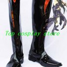 Guilty Gear XX Testament Cosplay Boots shoes black long Ver #GG007 shoe boot