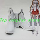 Sword Art Online Asuna Cosplay Shoes Boots white Ver Custom made #SA013 shoe