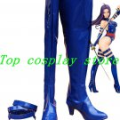 X-MEN MARVEL Psylocke cosplay Shoes Boots Custom-Made blue Ver #XM03 shoe boot