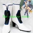 Guilty Gear Dizzy White Cosplay Boots shoes #GG002  shoe boot