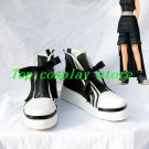 Final Fantasy VII Tifa Lockhart Ribbon Cosplay Shoes boots shoe boot black white