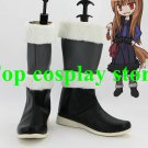 Spice and Wolf Horo cosplay Shoes Boots shoe boot Custom-Made #SO12