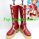 LOVE LIVE! LOVELIVE Awakening of Valentine Hoshizora Rin Cosplay Boots shoes