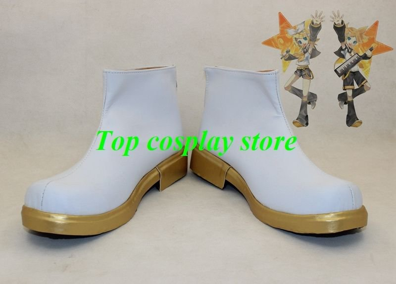 VOCALOID Kagamine Rin/Ren Kagamine Rin Ren Cosplay Boots Shoes  shoe boot