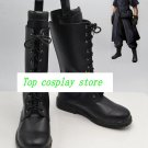 Final Fantasy Versus XIII Noctis Lucis Caelum's Cool Black Cosplay Boots shoes