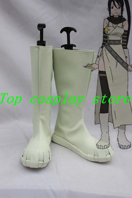 Soul Eater Tsubaki Nakatsukasa Cosplay Shoes Boots Custom Made #SE004 shoe boot