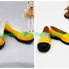 Vocaloid 3 SeeU Hanbok Cosplay Shoes boots Yellow Ver #VOC0137 shoe boot cute