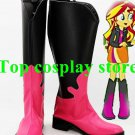 My Little Pony Equestria Girls - Rainbow Rocks Sunset Shimmer Cosplay shoes boot