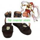 Fire Emblem Soren cos Cosplay Shoes Boots shoe boot  #NC964