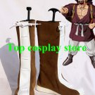 Dragon Ball Mr. Satan Hercule Cosplay Shoes Boots Hand Made Custom Made #DB007