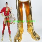 Anime Justice League Heroes Flash Captain Shoes Boots Cosplay Shoe boot