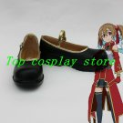 Sword Art Online Silica Cosplay Shoes boots #SA030  shoe boot