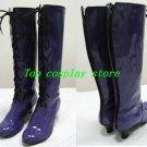 Sailormoon Sailor moon Cosplay Shoes boots purple #SC028 shoe boot