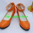 Sailor Moon Venus Minako Aino Cosplay Shoes boots orange shoe boot