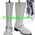 Final Fantasy XIII 13 Cid Raines Paine White Cosplay Shoes boots shoe boot