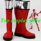 GoGo Sentai Boukenger Bouken Red Boukenger Ranger Power Rangers cosplay shoes