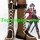 The Legend of Heroes Rean Schwarzer Cosplay Shoes boots Custom-Made #LH008