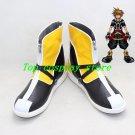 Kingdom Hearts 2 II Sora yellow ver Cosplay Boots Shoes shoe boot  #NC605