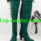 Mabinogi Diva Green High Heel Cosplay Boots shoes  Ver #MO09 shoe boot