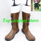 APH Hetalia Cosplay Axis Powers Hetalia Switzerland Brown Cosplay Boots shoes