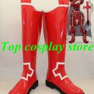 SAO Sword Art Online Kirito Heathcliff Knight of Blood Cosplay Boots Shoes red