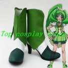 Smile Precure! Pretty Cure Nao Midorikawa Cure March Cosplay Shoes boots #PC019