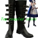 Alice Madness Returns Cosplay Boots shoes black shoe boot