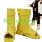 NARUTO Naruto Uzumaki Boruto fans art Cosplay Boots shoes Yellow ver shoe boot