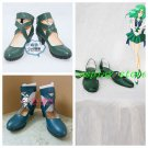 Sailor Moon Sailor Neptune Cosplay Shoes green Ver #SC038 boots shoe boot