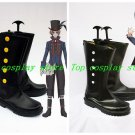 Black Butler Ciel Puppet Master Drocell Caines Drossel Keinz Cosplay Shoes boot