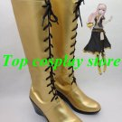 Vocaloid Cosplay Megurine Luka Gold Cospaly Boots shoes shoe boot