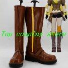 RWBY Yellow Trailer Yang Xiao Long cos Cosplay Boots Shoes shoe boot #15YJZ53