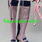 Neon Genesis Evangelion Makinami Mari Illustrious Pink Cosplay Boots shoes EVA