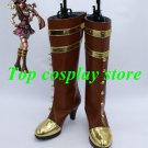 League of Legends LOL Caitlyn the Sheriff of Piltover Cosplay Shoes boots shoe