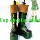 Hunter X Hunter Gon Freecss Cosplay Boots shoes green #HXH003 green shoe boot
