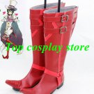 Blue Exorcist  Ao no Exorcist Mephisto Pheles Cosplay shoes Boots shoe boot