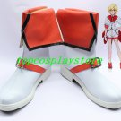 Cute High Earth Defense Club Love! Hakone Yumoto Battle Lover Scarlet Cosplay Shoes Boots